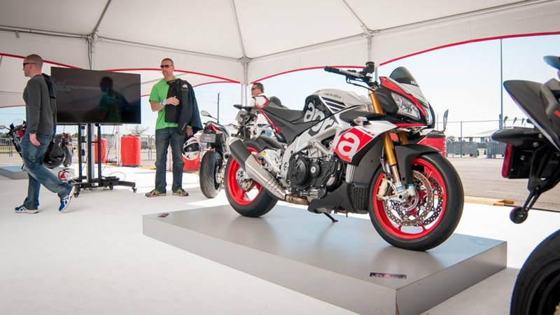 2016 Aprilia models USA prices announced at Daytona Bike Week