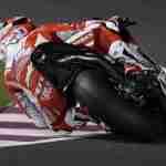 Andrea Dovizioso knee down Ducati MotoGP Qatar 2015