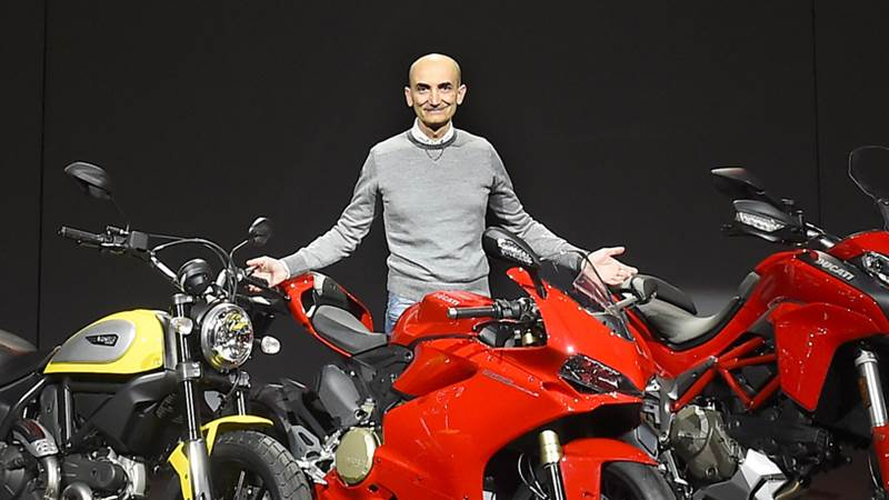 Ducati CEO Claudio Domenicali
