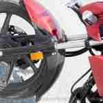 Honda CB Unicorn 160 CBS front fork left side
