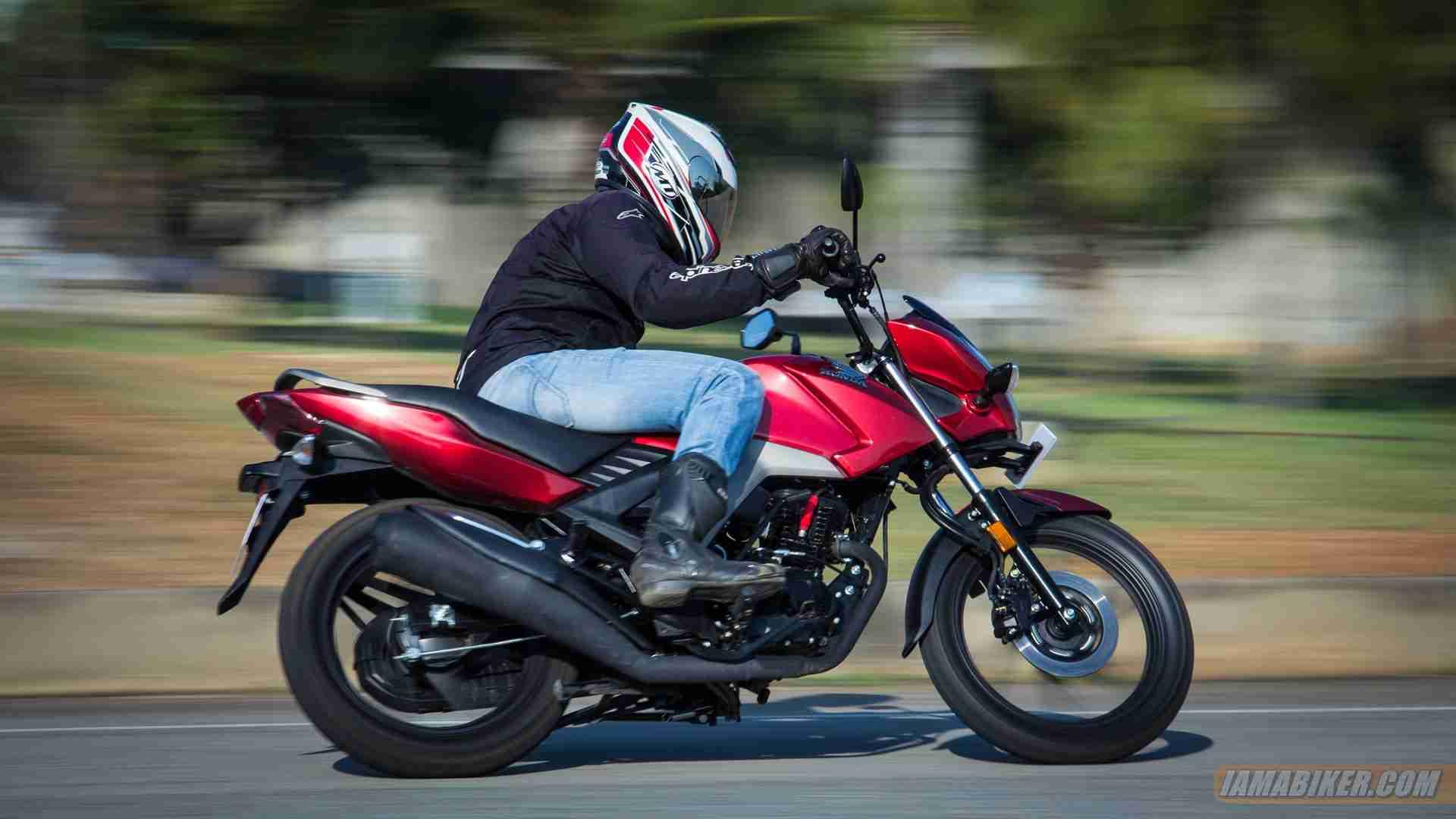 Honda CB Unicorn 160 CBS review - handling and braking