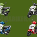 Honda Dio all colour options