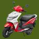 Honda Dio sports red colour option