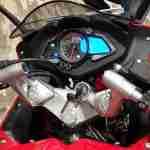 Pulsar RS 200 clip on handlebars