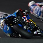 Scott Redding elbow down Estrella Galicia Marc VDS MotoGP Qatar 2015