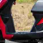 Suzuki Lets scooter footboard