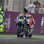 Valentino Rossi Andrea Dovizioso MotoGP Qatar 2015
