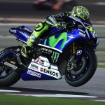 valentino rossi - wheelie hd wallpaper - qatar test 2015