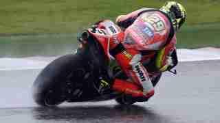 Andrea Ianonne in rain HD wallpaper - MotoGP COTA Austin Texas