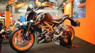 Duke 250 at Tokyo Motorcycle Show