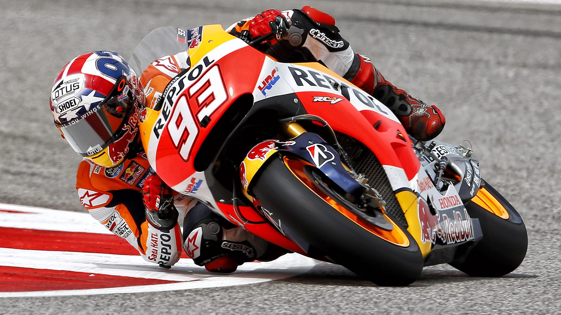 marc marquez hd wallpaper - motogp cota austin texas