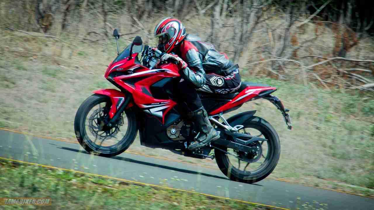 Pulsar RS 200 - rider Mustansir