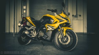 Pulsar RS 200 wallpaper HD yellow