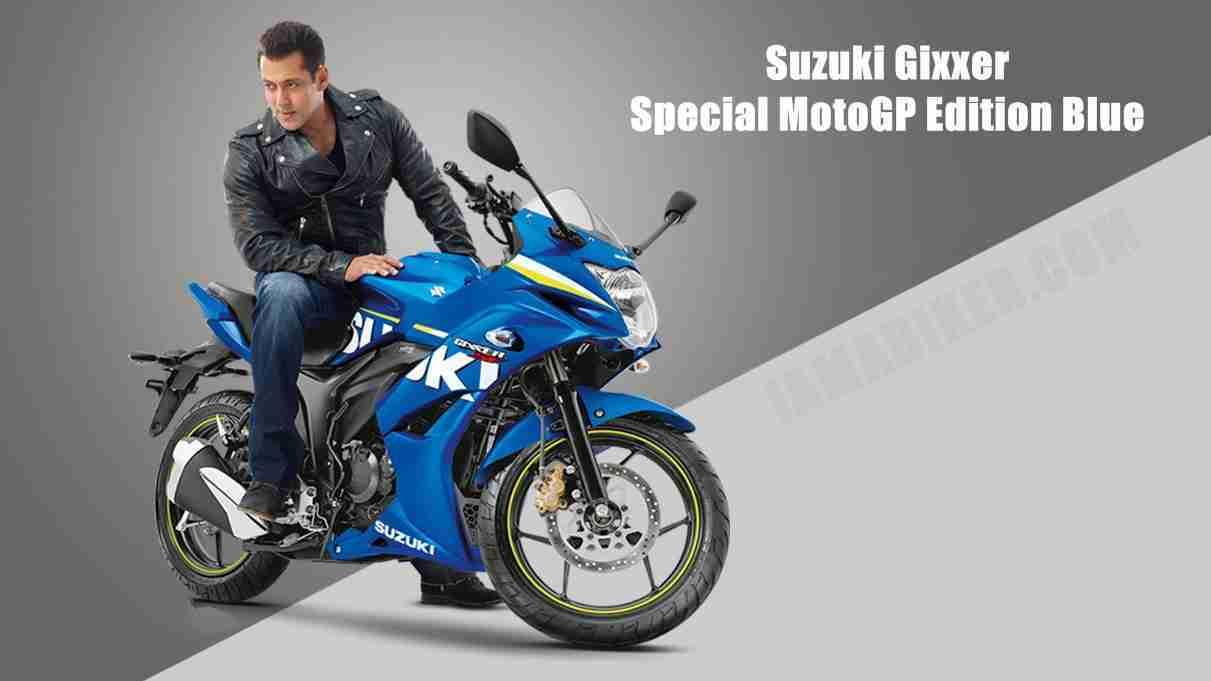 Suzuki Gixxer Sf Motogp Edition Blue