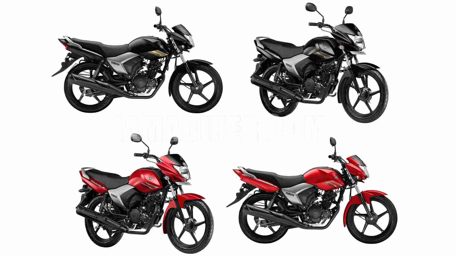 Yamaha Saluto 125 all colour options