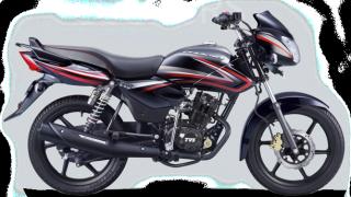 New 2015 TVS Phoenix 125 colour option black magic