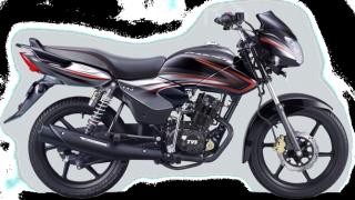 New 2015 TVS Phoenix 125 colour option crimson black