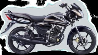 New 2015 TVS Phoenix 125 colour option midnight black