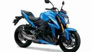 Suzuki GSX-S1000 Metallic Blue colour option