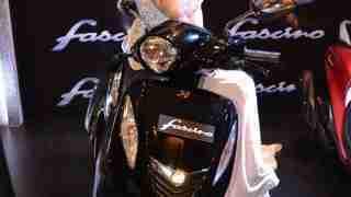 Yamaha Fascino black colour option