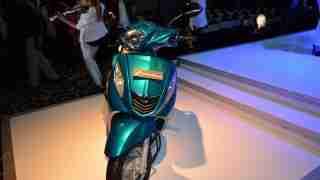 Yamaha Fascino blue colour option