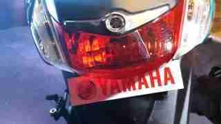 Yamaha Fascino brake light and indicators