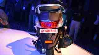 Yamaha Fascino brake light - tail section - back view