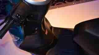 Yamaha Fascino foot board
