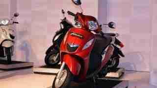 Yamaha Fascino red colour option
