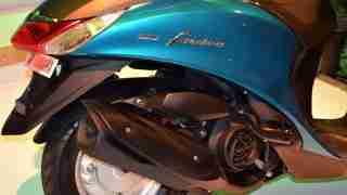 Yamaha Fascino silencer
