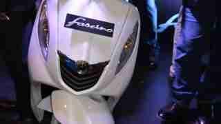 Yamaha Fascino white colour option