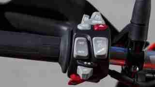 2015 BMW S1000XR left switchgear