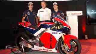 Honda RC213V-S presentation Catalunya