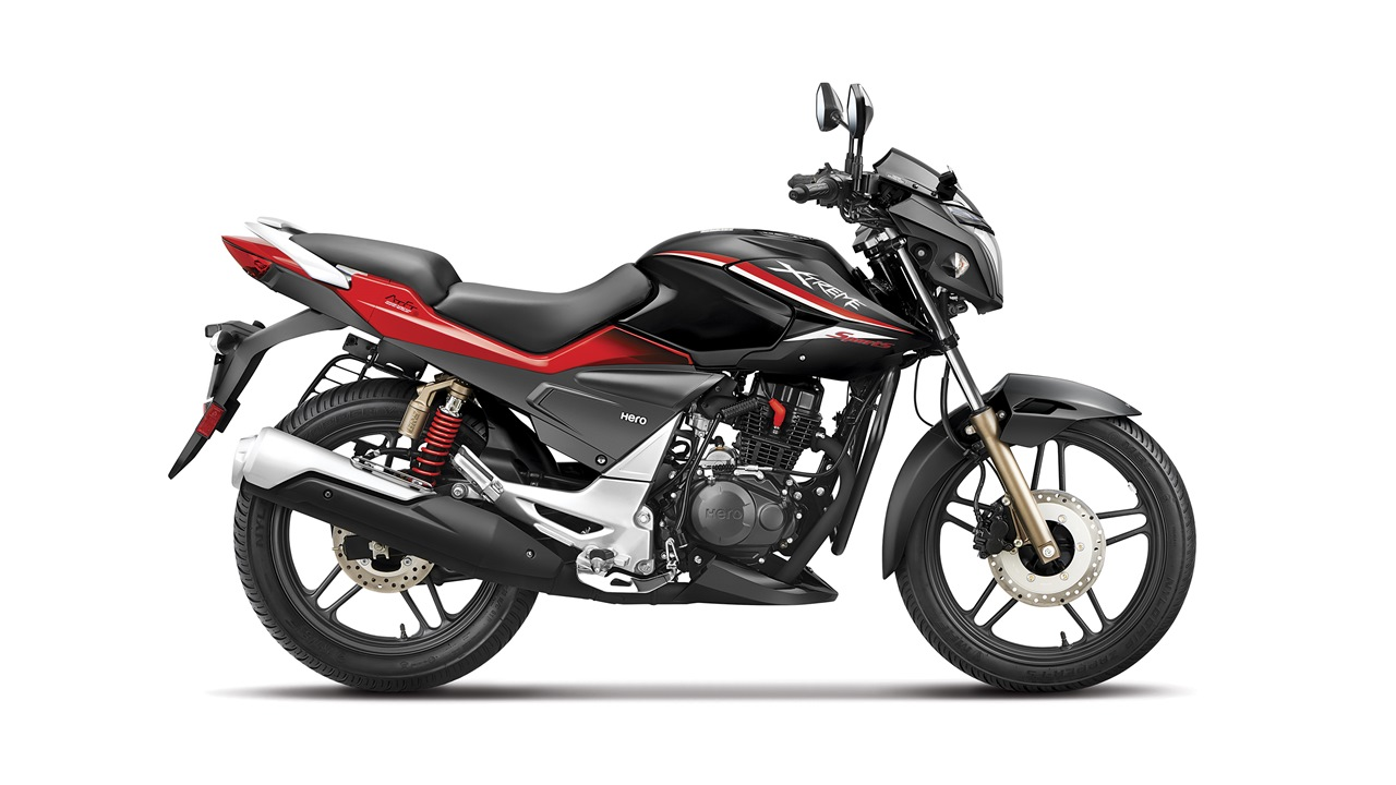 New Hero Xtreme Sports Black Red colour option