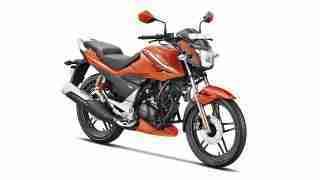 Hero Xtreme Sports Pyro Orange colour option
