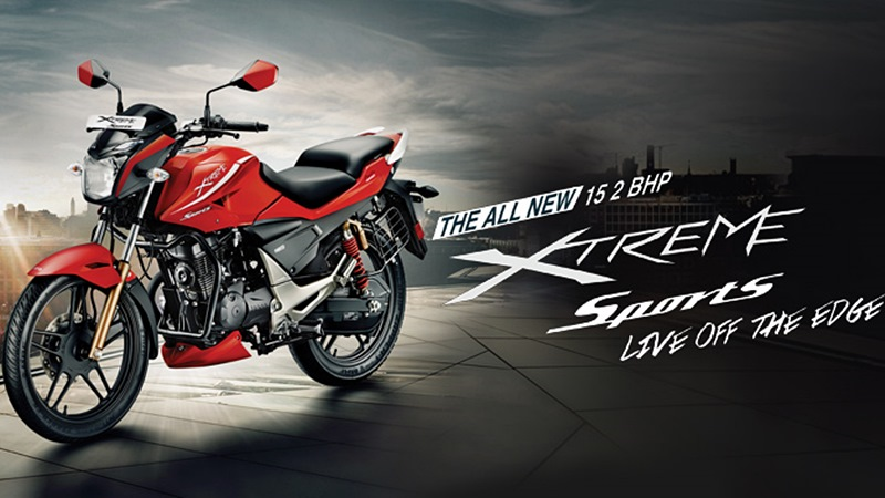 new Hero Xtreme Sports colour options