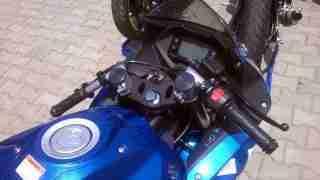 Suzuki Gixxer SF race spec clip on handle bars