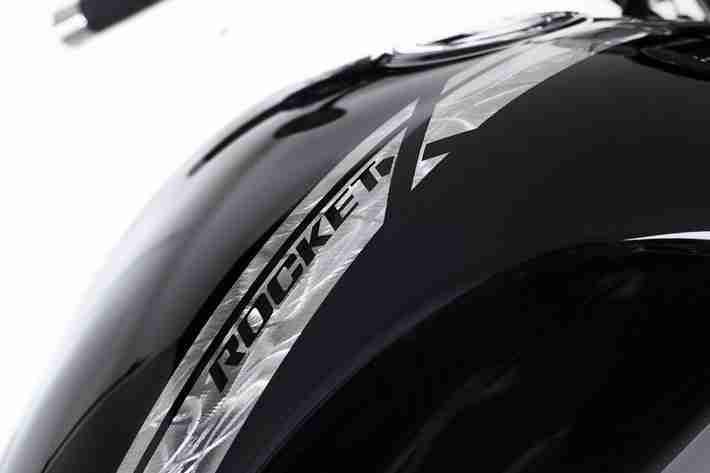 Triumph Rocket X limited edition badge