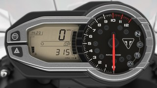 Triumph Tiger 800 XRT instrument console