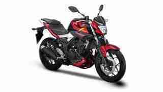 Yamaha MT 25 red colour option