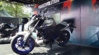 Yamaha MT 25 silver