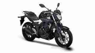 Yamaha MT 25 silver black option
