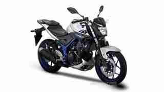 Yamaha MT 25 silver colour option