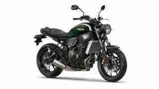 2016 Yamaha XSR700 Forest Green colour option