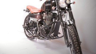 Custom Royal Enfield Cobra front view