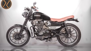 Custom Royal Enfield Cobra side view