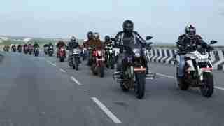 DSK Benelli Bangalore Ride
