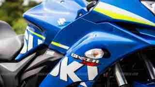 Suzuki Gixxer SF images - fairing