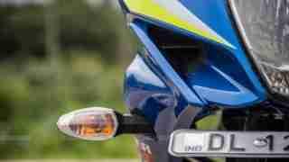 Suzuki Gixxer SF images - indicator