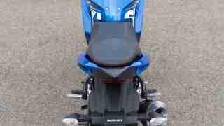 Suzuki Gixxer SF images - top view